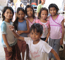 Children living in a Methodist orphanage in Phenom Pehn, Cambodia June 2007