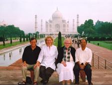 Tom and Amelia Boomershine with Frances Plude and Joseph Palakeel