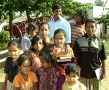 Missionary with Children